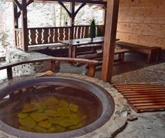В ресторане Зелена Садиба